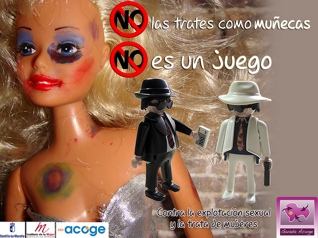 NO a la explotación sexual